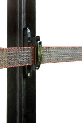 afstand isolator op hekwerk