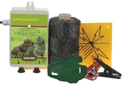 Schrikdraad apparaten paketten enz voor tuinen volières en